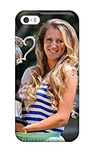 HeeytgQ3039QjICM Victoria Azarenka Pictures Fashion Tpu 5/5s Case Cover For Iphone(3D PC Soft Case)