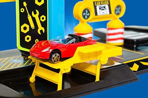 MOLTO Set Parking con 5 Coches 17404