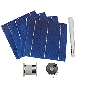 516Sc53jsnL. SS300  - 20/25/40/80/108/400pcs High Power 6x6 Solar Cells Kit 4.3W/Pcs w/ Tab Wire Flux for DIY Panel