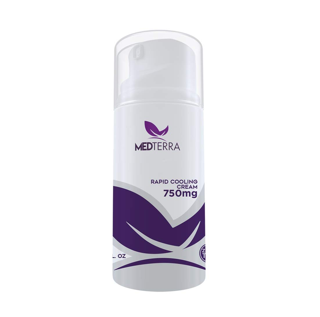 Medterra Topical Rapid Cooling Cream - 750mg Active Hemp