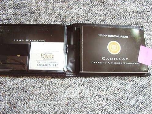 1999 cadillac escalade owners manual cadillac amazon com books rh amazon com 1999 Cadillac Escalade Black 1999 Cadillac Escalade Black