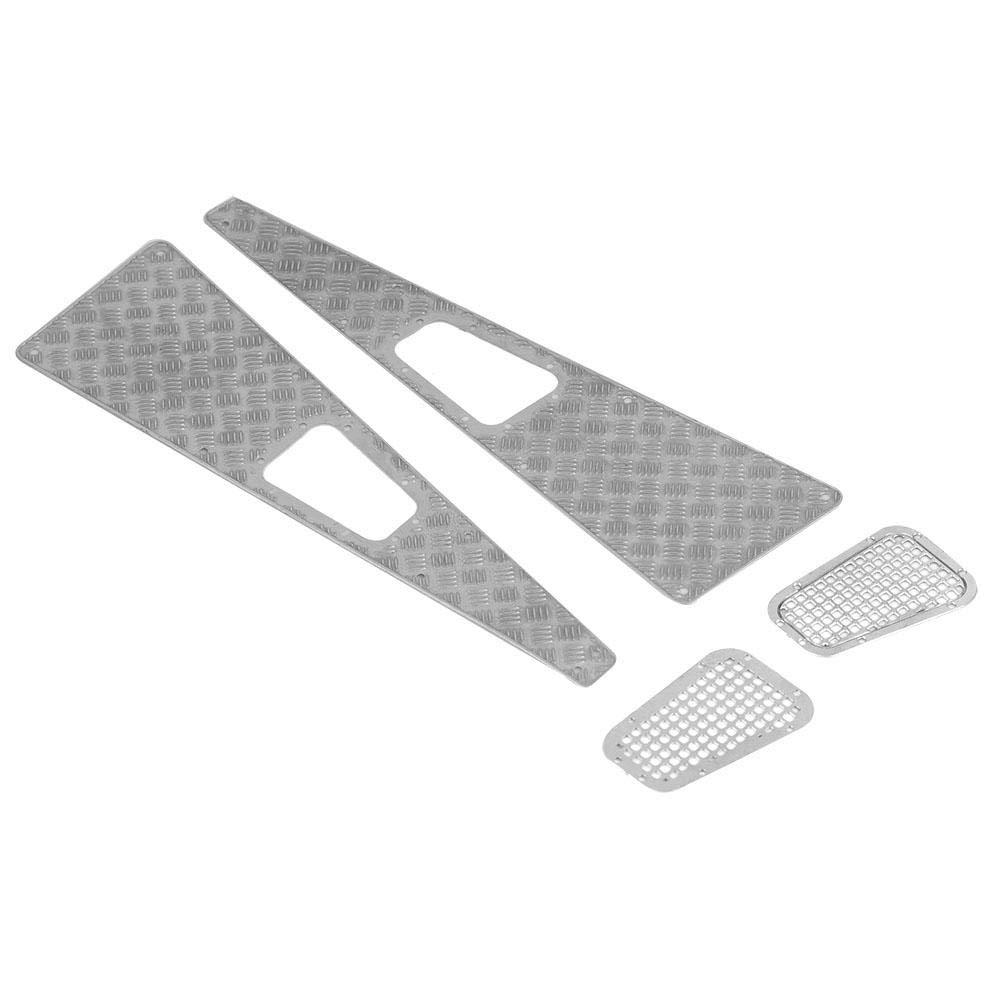 Grille dadmission de Plaque Anti-d/érapante en m/étal pour Voiture Traxxas TRX-4 1:10 RC Crawler