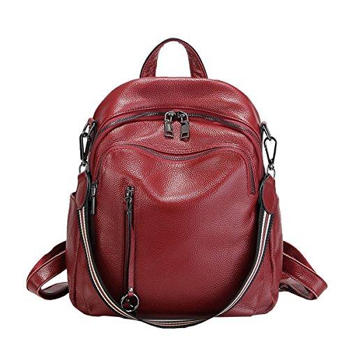 en Girl cuir à LF dos Rouge femme main Sac fashion épaule E Sac Sac portés 88039 portés 0FRgw8