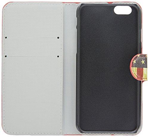 LD A000919 Case Schutzhülle für Apple iPhone 6 (4,7 Zoll), Motiv: USA-Flagge, vintage