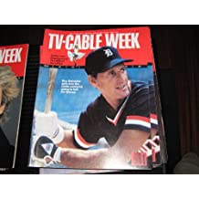 TV-Cable Week Magazine (Roy Scheider , Jan Stephenson...LPGA, Auhust 14-20 , 1983)