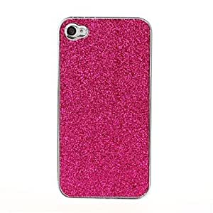 RC - Bling Glitter Shining Pattern Silver Hard Case for iPhone 4/4S , Green
