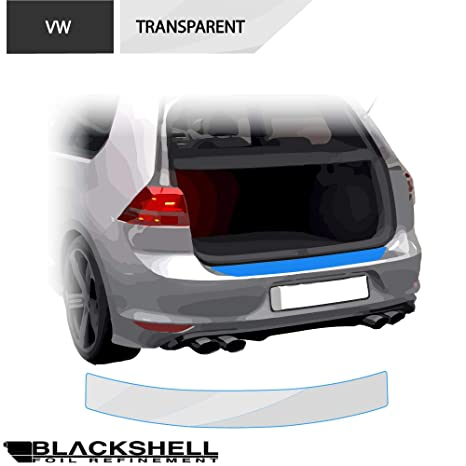 2009-2014 Ladekantenschutz Lackschutzfolie transparent VW Polo 5 Typ 6R