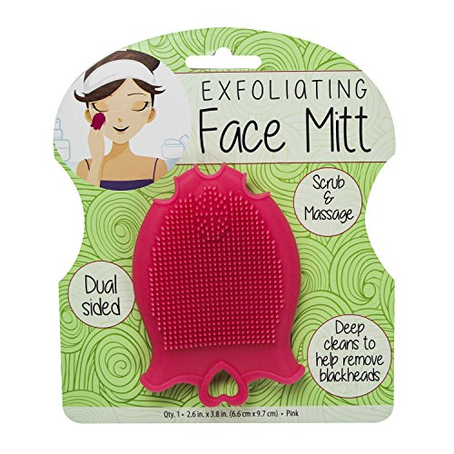 S & T Exfoliating Face Mitt, 0.09 Pound