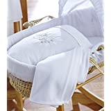 Clair de Lune Baby Palm Moses Basket