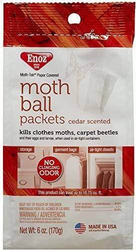 12 oz. Enoz Moth Balls Cedar Scented