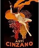 Asti Cinzano, с.1920 Vintage Advertising Poster Reproduction By Leonetto Cappiello (16x20)