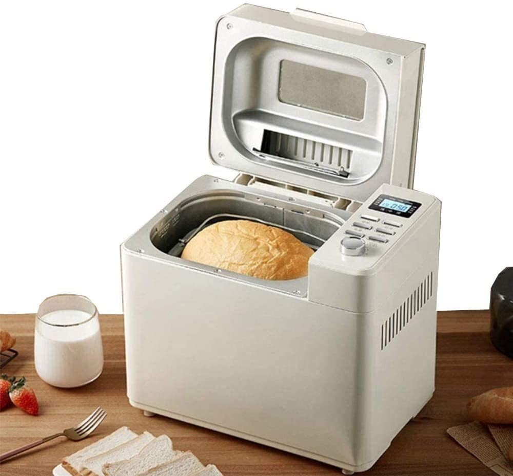 Máquina de pan profesional automática digital de la panificadora digital casera temporizador función de memoria mantener caliente seguro rápido fabricante de fermentación dongdong: Amazon.es