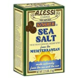 Alessi Kosher Sea Salt, 2.2 lbs