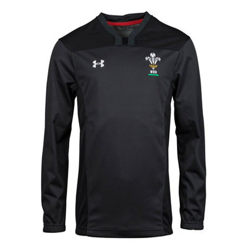 2018-2019 Wales Rugby WRU Contact Training Jacket (Anthracite) B076V6JR66Black XXXL 54-56\
