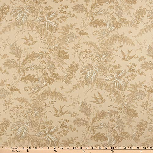 - Andover Evergreen Toile Husk Fabric by The Yard