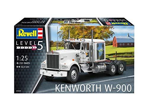 Revell RV07659 1:25 - Kenworth W-900 Plastic Model kit 1/25 2