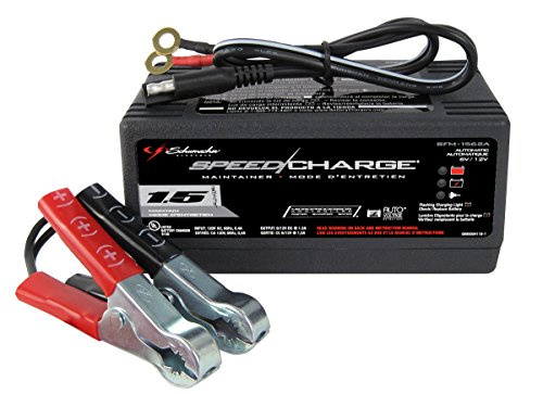 Schumacher SFM-1562A Speed Charge 1.5 Amp Fully Automatic Battery Charger/Maintainer