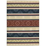 Nourison India House (IH84) Multicolor Rectangle Area Rug, 8-Feet by 10-Feet 6-Inches (8' x 10'6'')