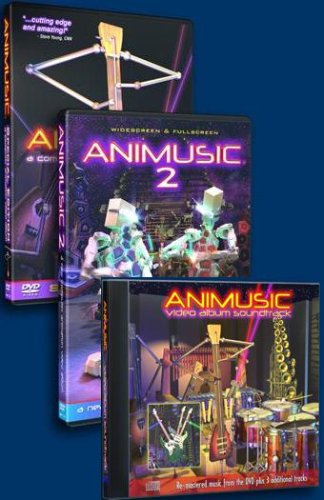 Animusic DVD#1 and #2 with Music CD #1