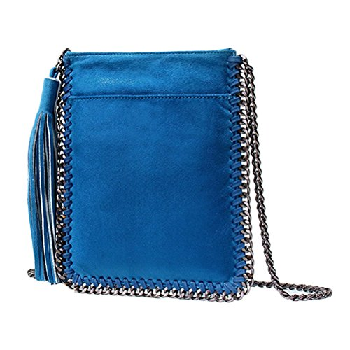 Zhuhaijq Soft Tassel Casual Zip Bags Slings Small Woman In Designer Shoulder Sale - Easy To Combine With All Their Blue Suits