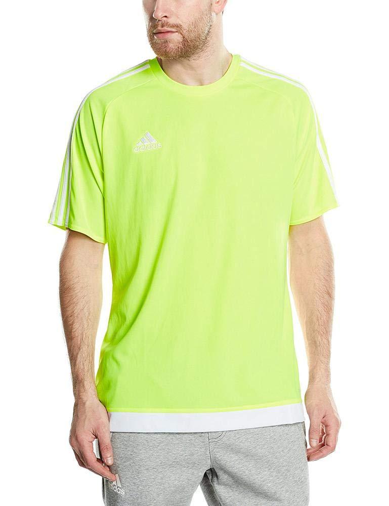 adidas Herren Fußballtrikot Estro 15, solar gelbWeiß, L, S16160