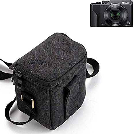 K-S-Trade® Para Nikon Coolpix A1000 Cámara Bolsa Funda De ...