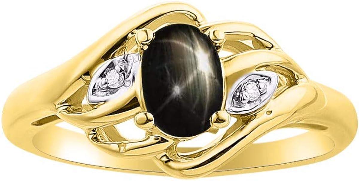 Diamante y piedras preciosas o semipreciosas de color plata de ley, plata chapada en oro amarillo de 925, oro amarillo de 14 K o oro blanco de 14 K