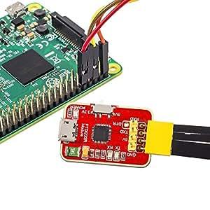 SunFounder FT232RL FTDI USB to TTL Serial Adapter Module 3.3V 5V for Arduino Raspberry Pi