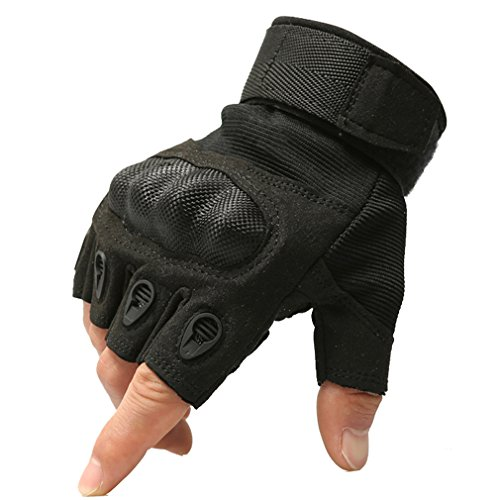 Reebow Gear Military Fingerless Hard Knuckle Tactical