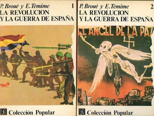 La revolucion y la Guerra de España (2 vols): Amazon.es: Broue, Pierre ... [et al.]: Libros