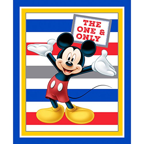 - Disney Mickey The One and Only Fabric Sold by the Panel