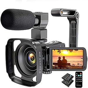 Flashandfocus.com 516SjNmRgcL._SS300_ Video Camera Camcorder 2.7K Ultra HD 36MP YouTube Camera for Vlogging, IR Night Vision 16X Digital Zoom Camera Recorder…