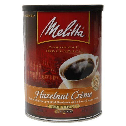 Melitta Hazelnut Creme Medium Roast Coffee 11 oz(Pack of 3) ()