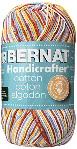 Handicrafter Cotton Stripes (Spinrite Handicrafter Cotton Yarn, Ombres and Prints, 340gm, Calico)