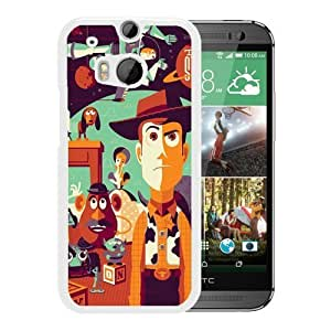 Attractive Case Toy Story HTC ONE M8 Case in White