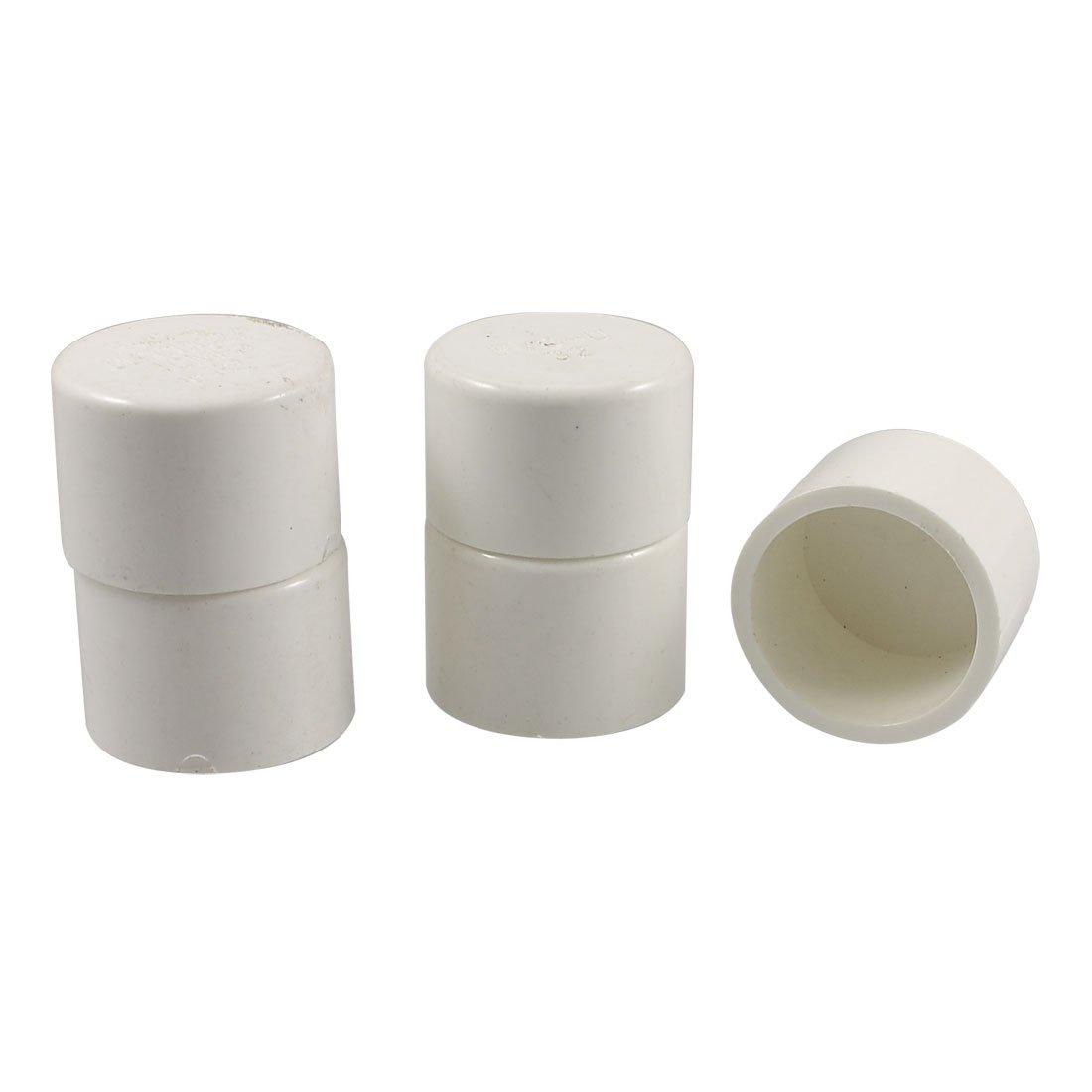 32mm PVC acqua tubo adattatore accoppiatore terminale 5pz