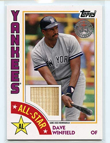2019 Topps '84 Topps All Star Relics #ASRDW Dave Winfield Bat - NM