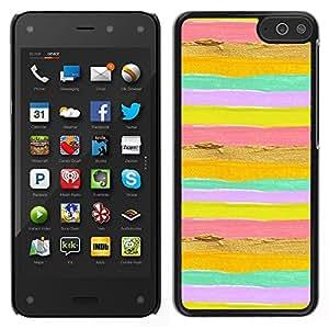 """Pulsar Snap-on Series Teléfono Carcasa Funda Case Caso para Amazon Fire Phone 4.7 , Summer Sun Amarillo Oro Rosa"""""""