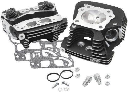 S&S Cycle Super Stock Cylinder Head Kit (Super Stock Cylinder Heads)