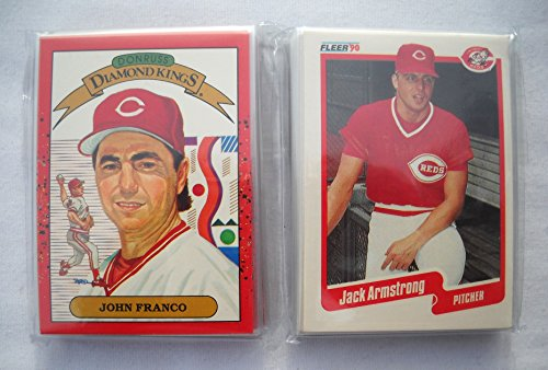 1990 Cincinnati Reds Baseball Card Team Set Lot (2) Donruss Fleer NM
