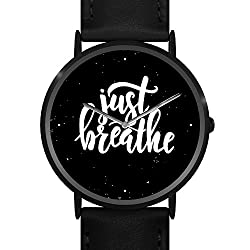 (Limited Edition) 'Breathe' Minimal Watch - Uniue Wrist Watches for Men and Women, Teens & Adults