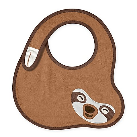 Fred and Friends Chill Set of 2 Baby Sloth Bibs