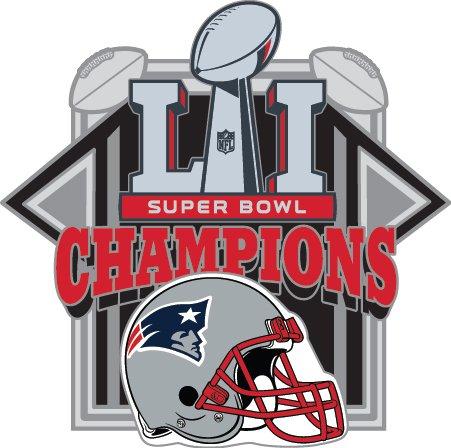新しいEngland Super Bowl Li ( 51 ) Championsピン- 1   B01N9ZS2EK