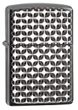 Zippo Armor Brite Cut High Polish Black Ice Pocket Lighter