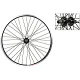 Wheel Master Rear Bicycle Wheel 24 x 1.75 36H, Alloy, Quick Release, Black