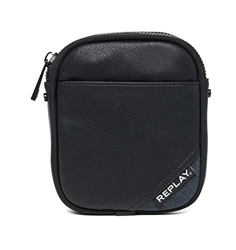 Black Men's a0132a Shoulder Fm3337 Bag Replay 000 wgnxfqY1