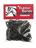 Weaver Leather Rubber Bands, Black