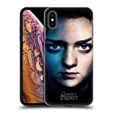 Official HBO Game of Thrones Arya Stark Valar Morghulis Hard Back Case for iPhone Xs Max
