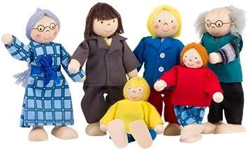 Goki Puppenhaus-Puppen City-Familie