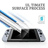 GameWill Tempered Glass Screen Protector for Nintendo Switch (2-Pack)Anti-Bubble & Anti-glare